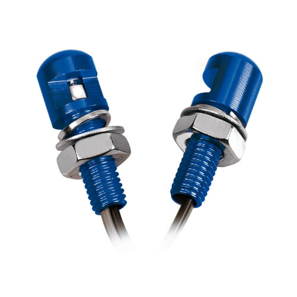 Led screws, blue light, 2 pcs