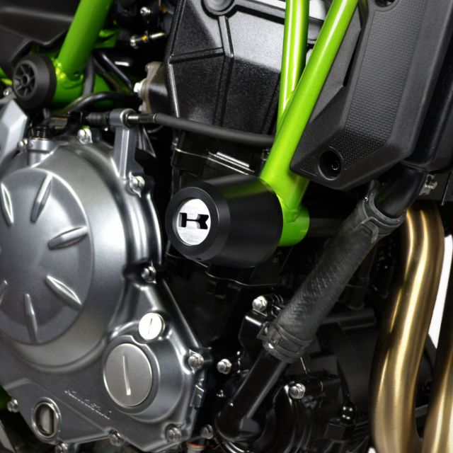 Kawasaki Z650 engine guards kit