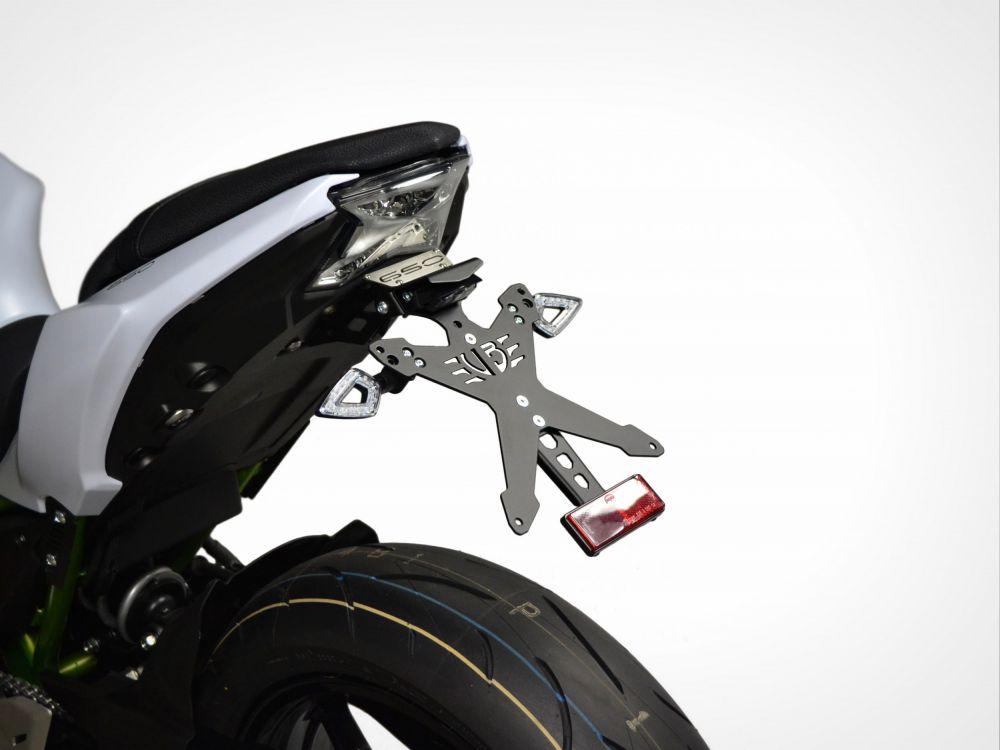 Kawasaki Z650 / NINJA 650 Race Line license plate kit