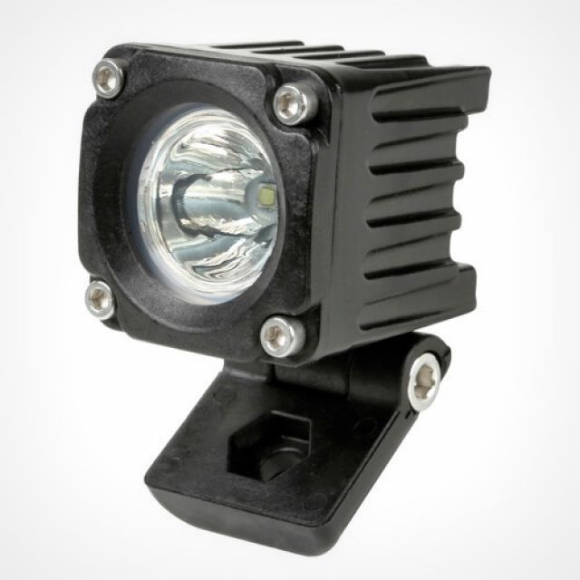 WL-19, auxiliary light, 1 Led - 9/32V - Focus beam - White
