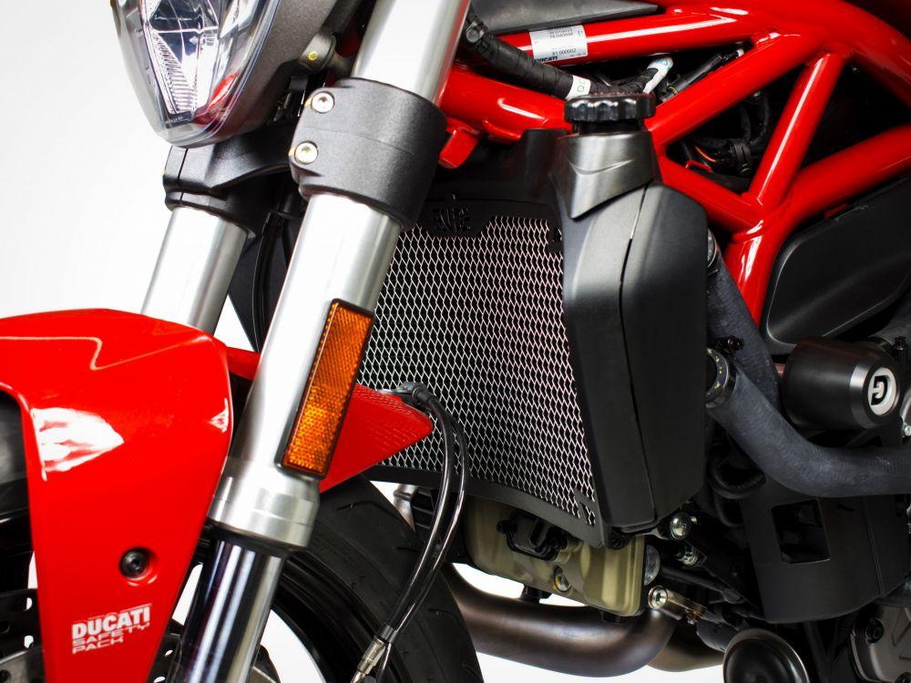 Ducati Monster 821 radiator guard