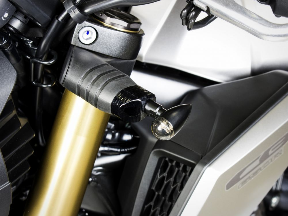 Honda CB650R 3D front turn lights adapters