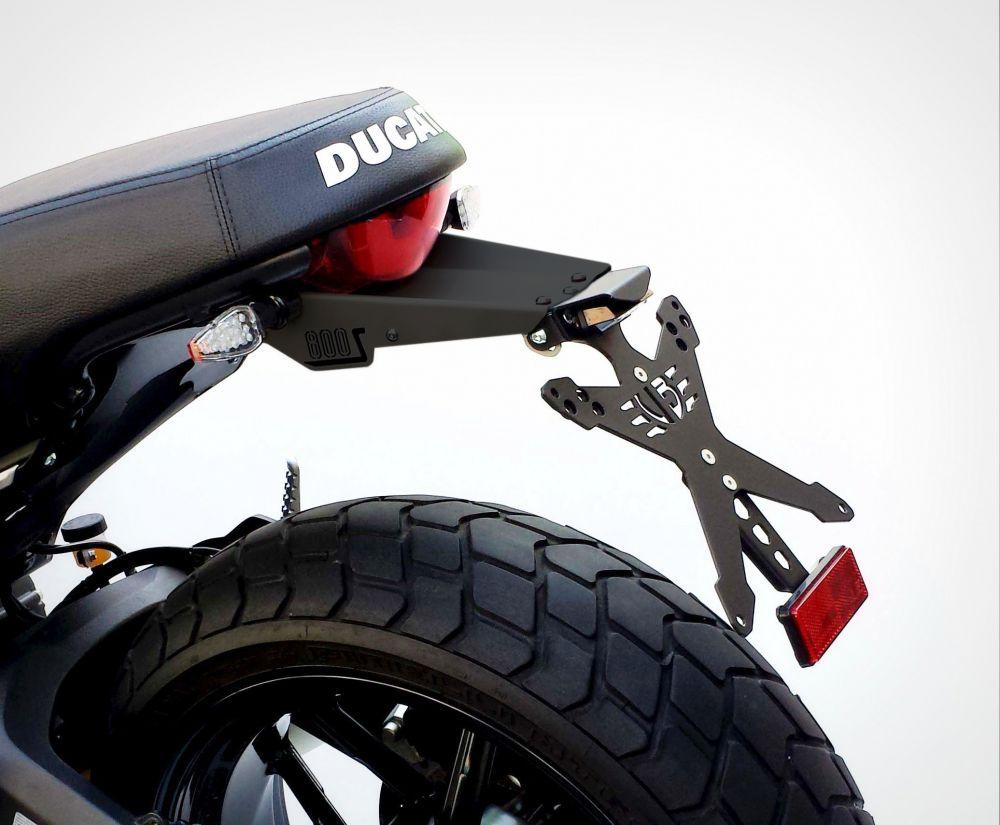 Kit portatarga con paraschizzi Ducati Scrambler Sixty 2