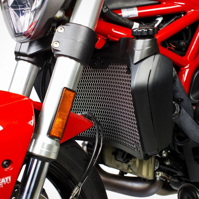 Ducati Monster 821 radiator guard
