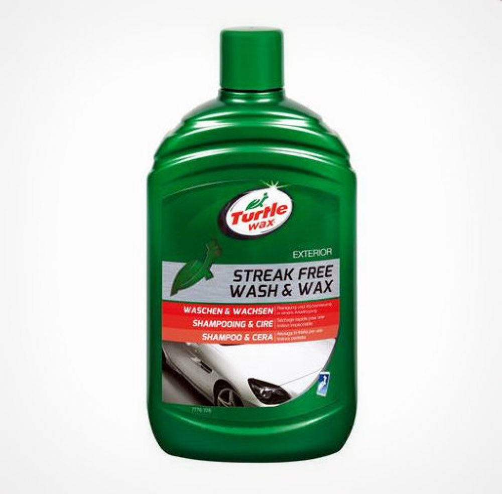 Streak free wash & wax