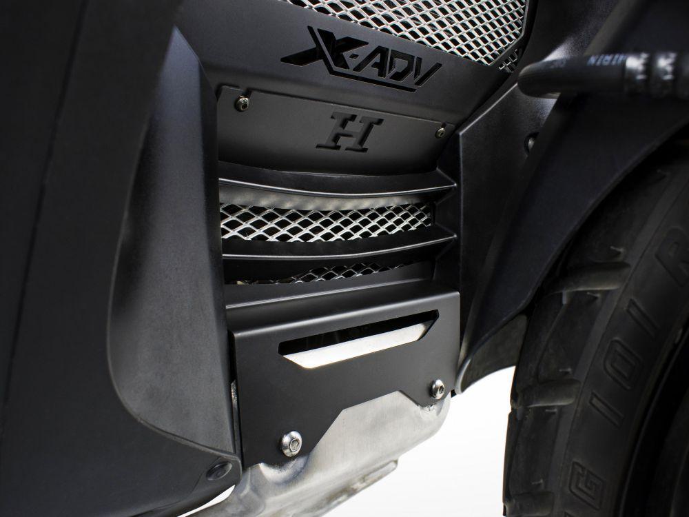 Protezione supplementare copriradiatore Honda X-ADV