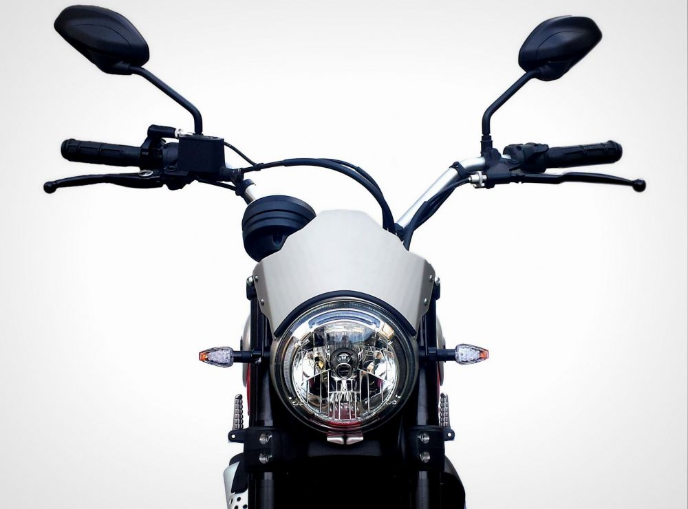 Cupolino Aria Aluminum Line Ducati Scrambler 800 Urbano Bruni