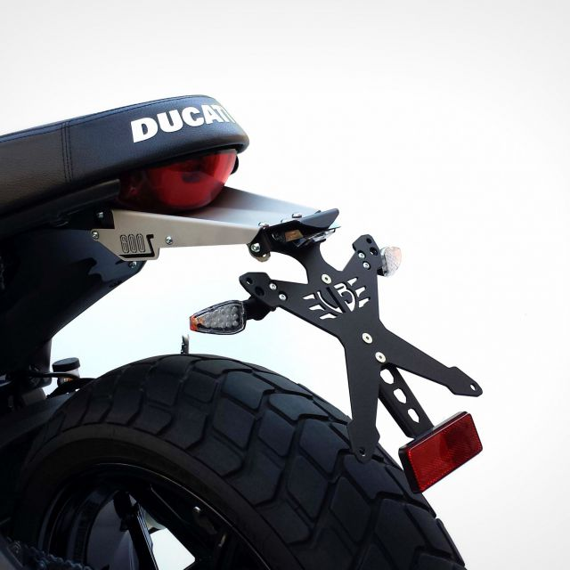 Support de plaque kit Ducati Scrambler 800