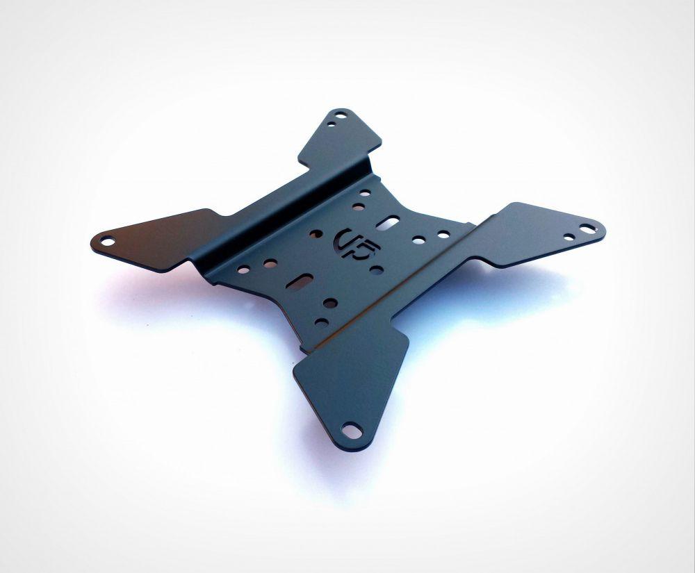 Universal UB license plate holder
