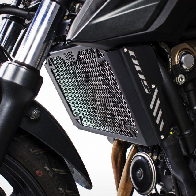 Honda CB500F radiator guard kit