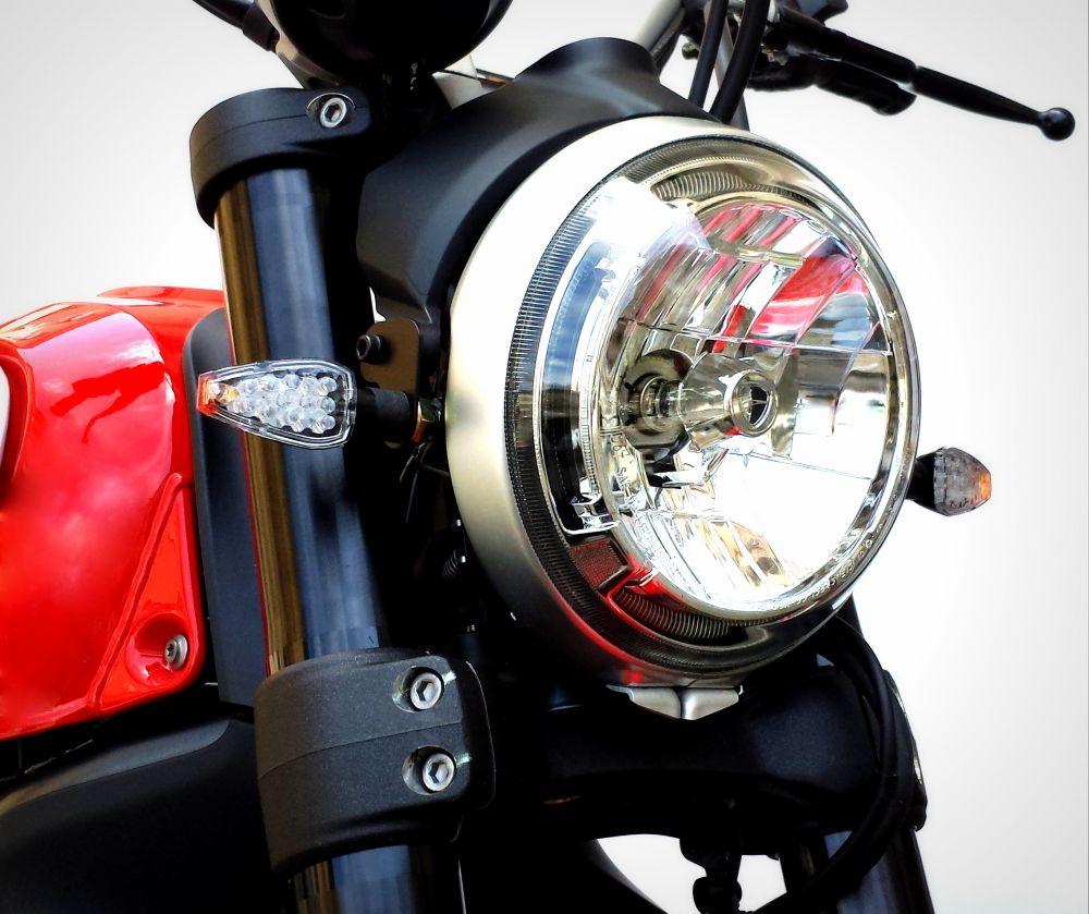 Adaptateurs pour clignotants Standard Ducati Scrambler 800