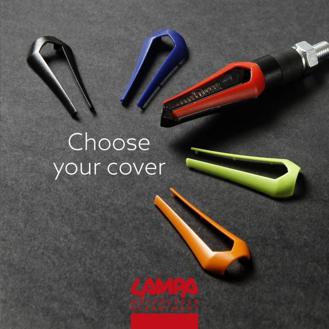 Colored covers for Zephyr corner lights