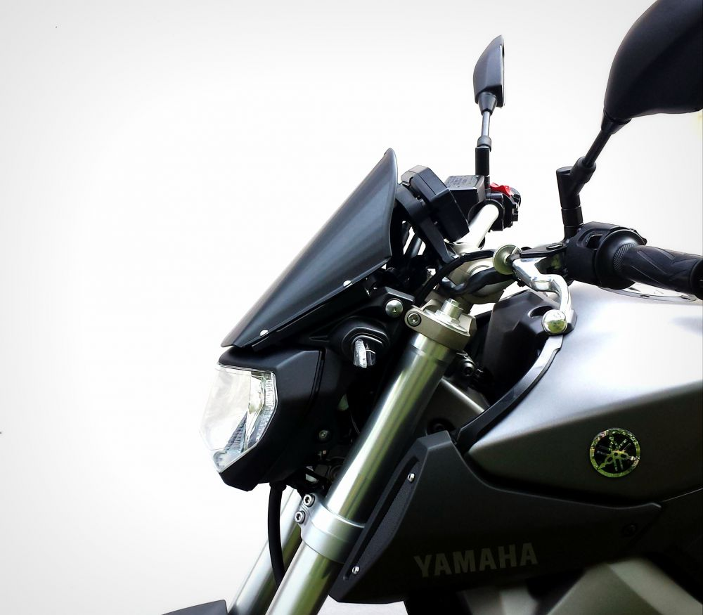 Yamaha MT-09 Aluminum Line windshield