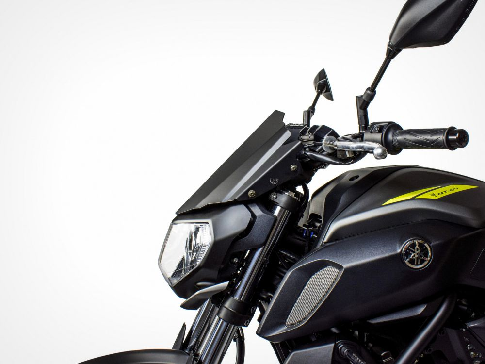yamaha mt 07 race line windshield urbano bruni. Black Bedroom Furniture Sets. Home Design Ideas