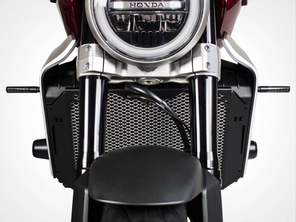 Honda CB1000R radiator guard
