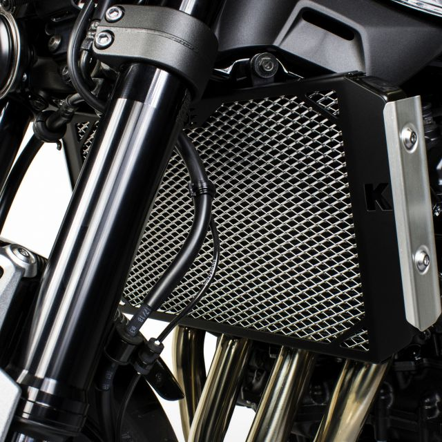 Kawasaki Z900RS radiator guard (for standard side covers)