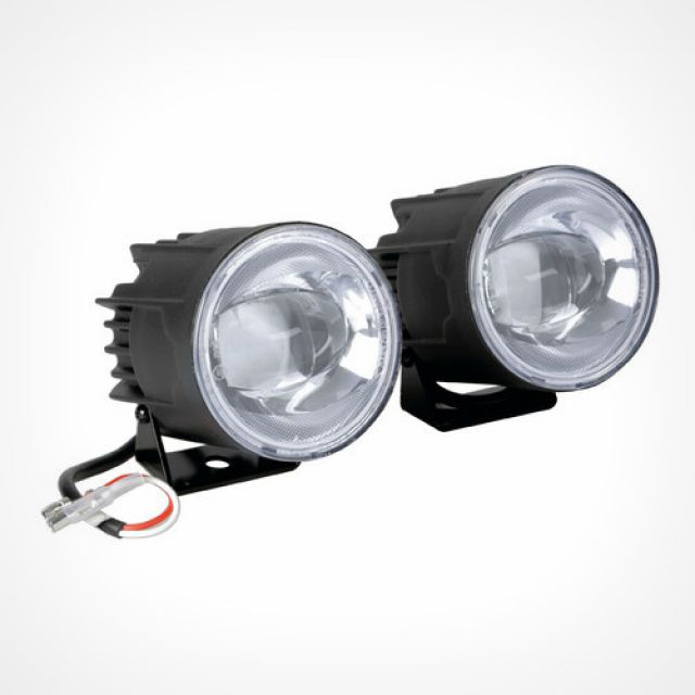 Fog-Busters, pair of auxiliary Led fog lights, 12V