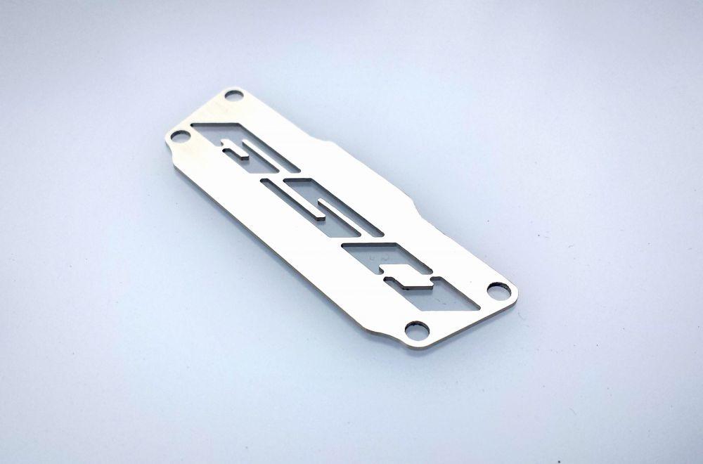 Insert satinée pour support de plaque Honda CB650F / CBR650F