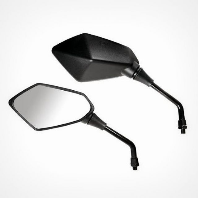 Kaba, rearview mirrors