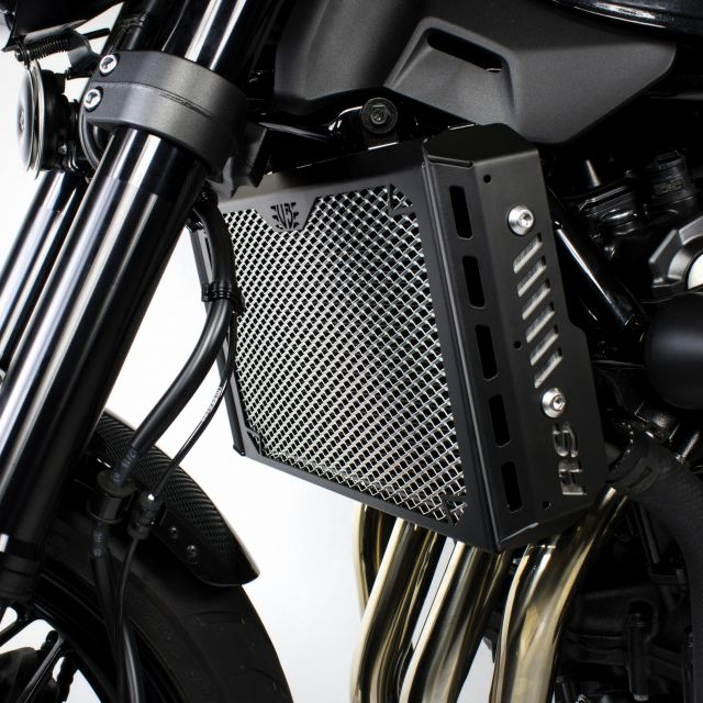 Kawasaki Z900RS radiator guard with side covers