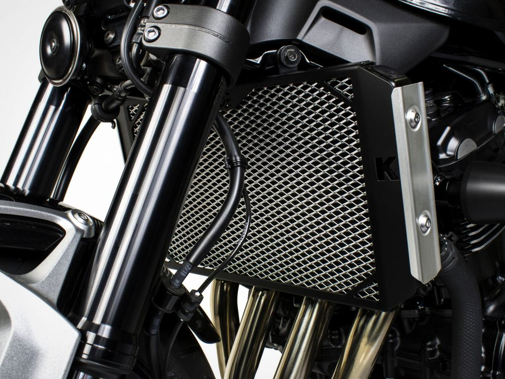 Kawasaki Z900RS radiator guard (for standard side covers)