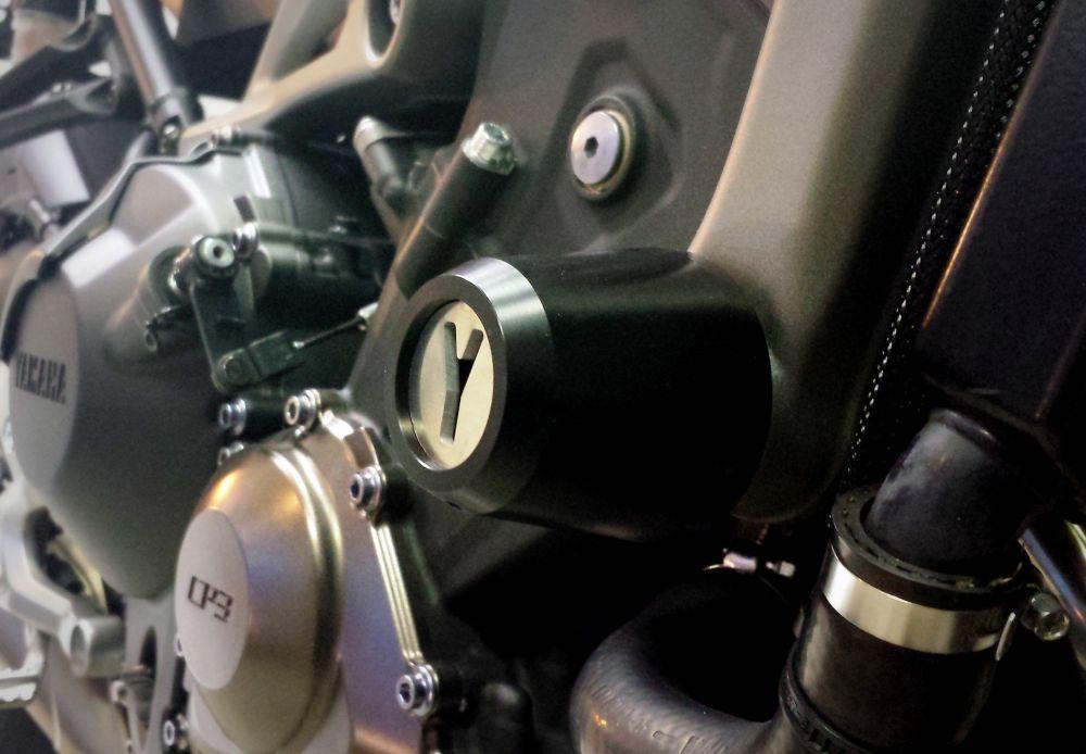 Yamaha MT-09 engine guards kit