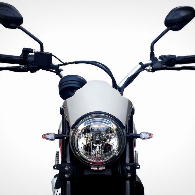 Ducati Scrambler 800 Aluminum Line airflow