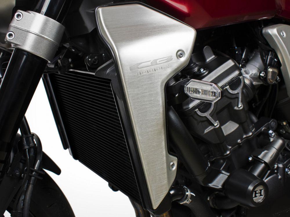 Honda CB1000R turn signals relocation kit