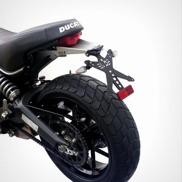 Ducati Scrambler Sixty 2 license plate kit