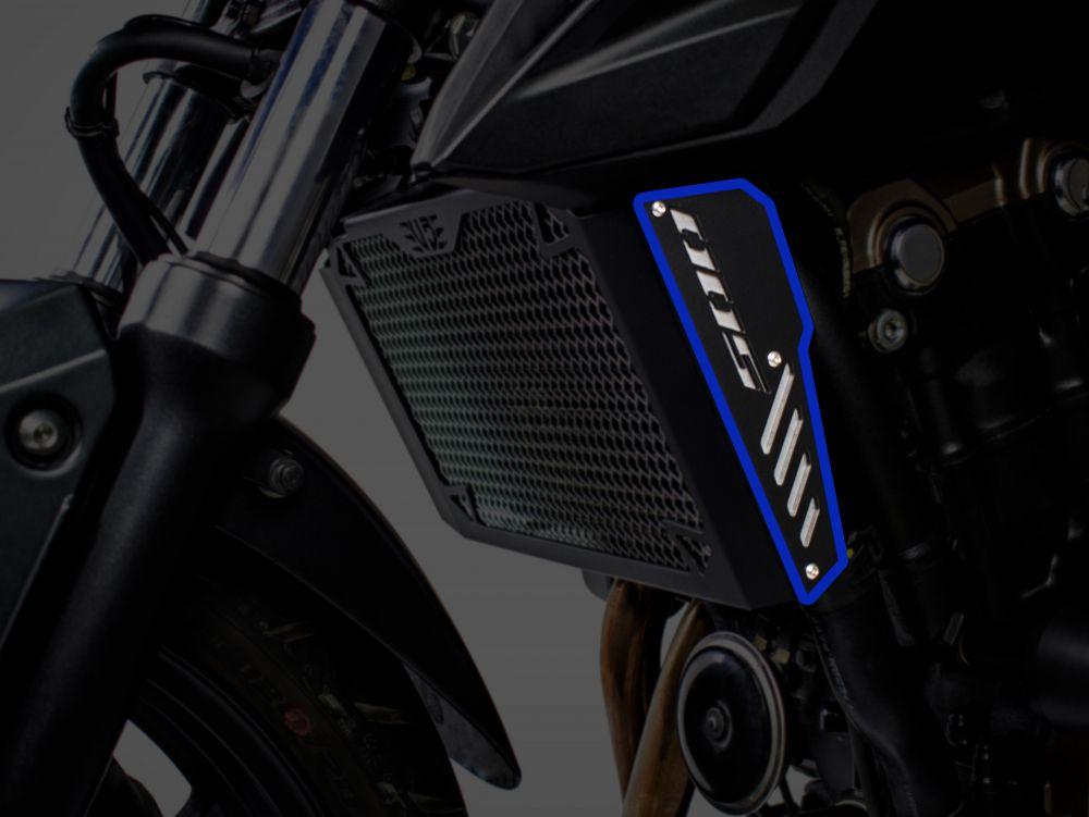 Inserts arrière pour protection de radiateur Honda CB500F