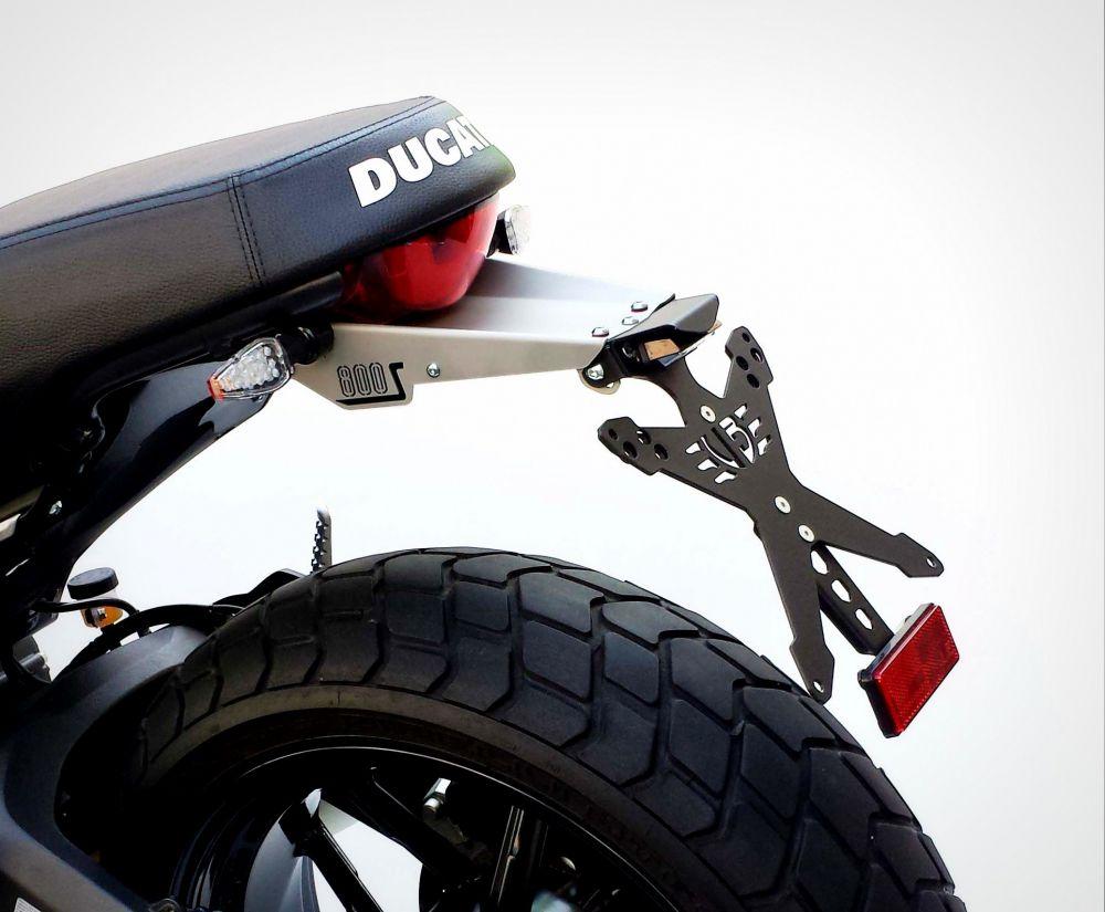 Kit portatarga con paraschizzi Ducati Scrambler 800
