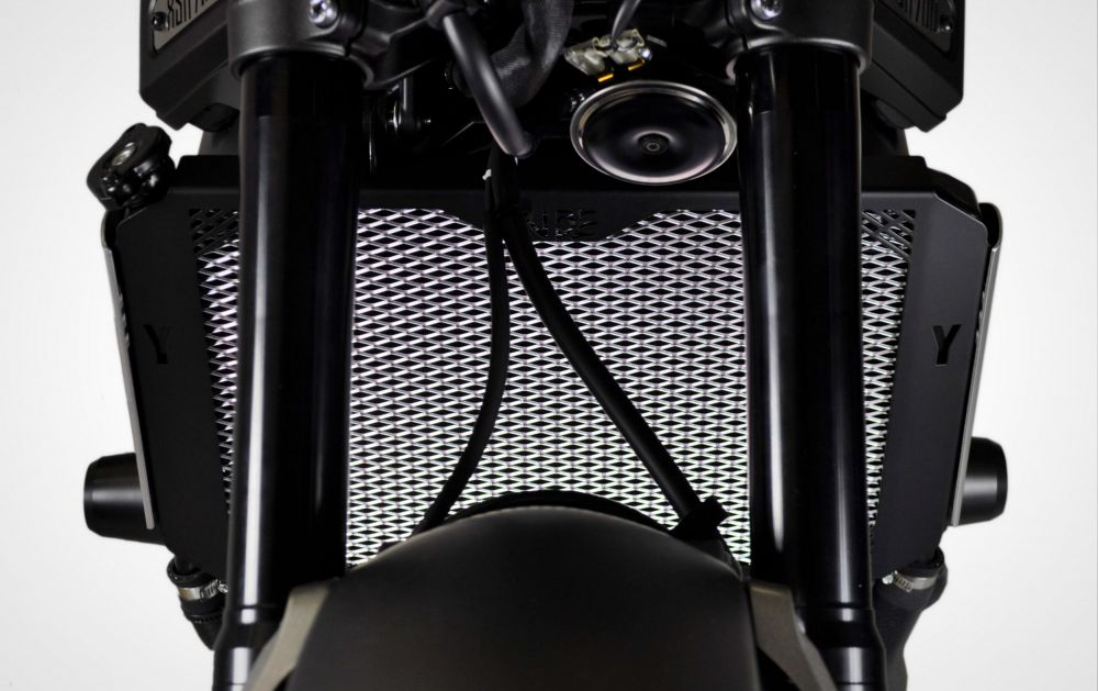 Yamaha XSR 900 radiator guard (for standard side covers)