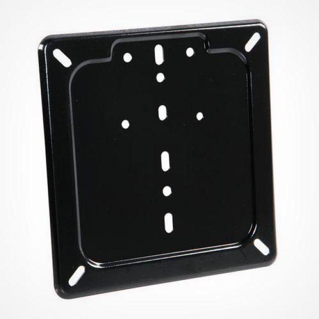 Universal stainless steel flat license plate holder