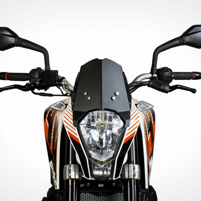 KTM Duke 390 Race Line Windshield