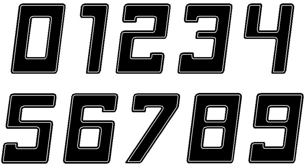 Kawasaki Z900RS side number plate