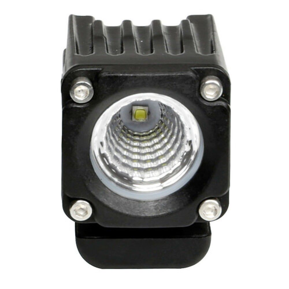 WL-19, auxiliary light, 1 Led - 9/32V - Wide beam - White
